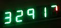 フルカラー7セグメントLEDの点灯②数値を表示