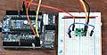 SpresenseでLチカから始める (15) Wireライブラリ 温度EMC1412