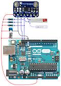 マスタリングWireライブラリ その3 温度センサMCP9808のアラート