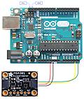 STEMMAで広がるArduinoの世界㉑Step1 6軸加速度センサMPU6050