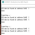 vs Arduino  UNO WiFi (3) 温湿度センサHTU21D