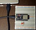 ESP32入門 通信機能が標準搭載されたマイコン・ボード (3) サンプル・プログラムを用いてWi-Fi経由でLEDのON/OFFを行う