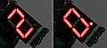 7セグLED表示 その2 1文字でも情報は伝えられる