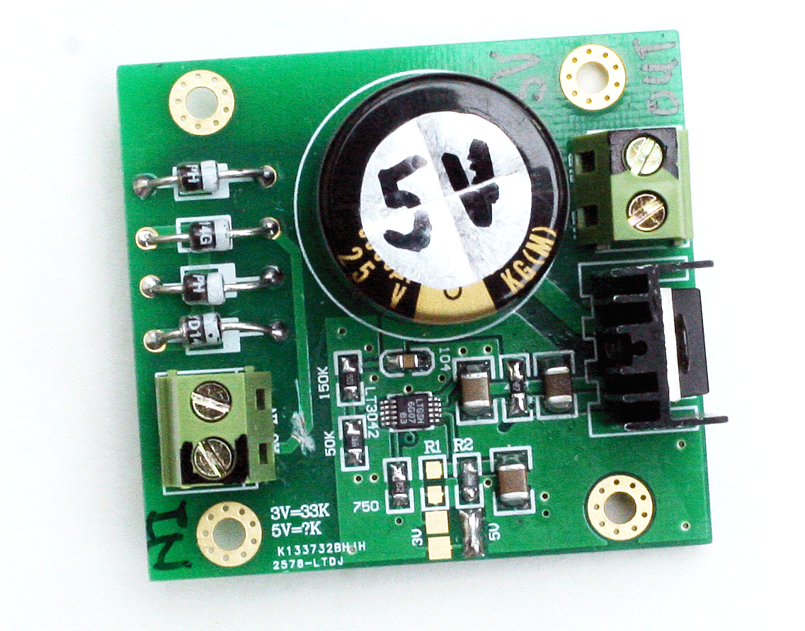 5v And 33v Dc Voltage Regulator Board