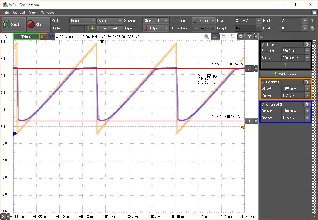 単電源OPアンプの計測 | 電子工...