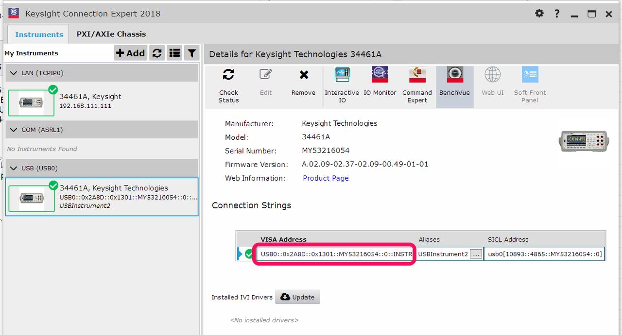 IoTで使うPython入門Step3-計測 (4) DMM 34461A-③ | 電子工作の環境向上