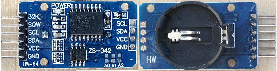 CircuitPython 10行プログラミング Step2 (3) RTC DS3231 | 電子