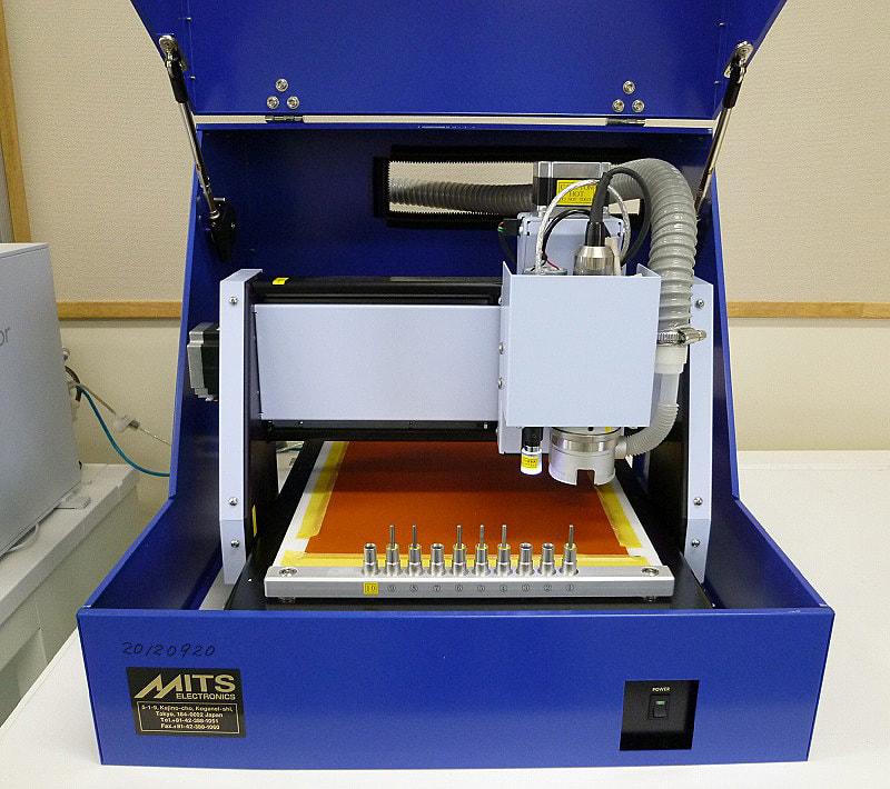 1枚からプリント基板が作れる基板加工機ミッツAutoLabの使い方 <その1>リンク関連記事