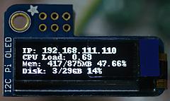 IoTで使うPython入門Step1-I2C LM75Bで温度測定 (5) OLEDへ表示