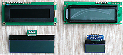 I2C接続AQMシリーズのキャラクタ表示LCDをArduinoで使う (5) 応用 clear home setCursor
