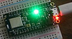 CircuitPython 10行プログラミング Step4 (2) Lチカ