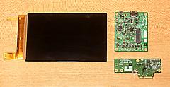 Raspberry Pi に小型LCDディスプレイをつなぐ 秋月電子通商7インチ1200×1920とアクリル・パネル