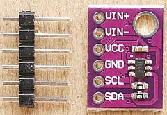 5ドル!ラズパイ・ゼロ(Raspberry pi Zero)でIoT (35) A-Dコンバータの利用10 I2C ADS1110