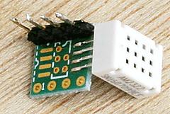 5ドル!ラズパイ・ゼロ(Raspberry pi Zero)でIoT (26) ディジタル湿度センサ4 I2C AM2322