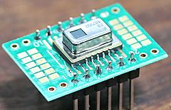 5ドル!ラズパイ・ゼロ(Raspberry pi Zero)でIoT (38) ディジタル光センサ3 I2C AMG8833