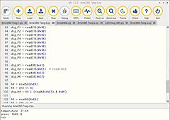Raspberry Pi 4 + Python3入門 <STEP1> (5) 7セグメントLED 74HC595 その5 BME280をネイティブにアクセス②
