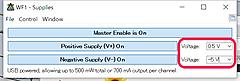 可変電源とスペクトル・アナライザの組み合わせが便利なAnalog Discovery (2)