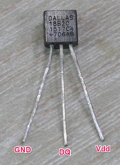 5ドル!ラズパイ・ゼロ(Raspberry pi Zero)でIoT (16) ディジタル温度センサ1 1-Wire DS18B20