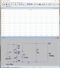 TL431で電源の実験  (2)  出力インピーダンス