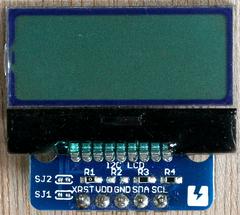 I2C接続AQMシリーズのキャラクタ表示LCDをMicro:bitで使う (1) AQM0802