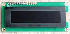 I2C接続AQMシリーズのキャラクタ表示LCDをラズパイで使う (4) SO1602