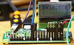 5ドル!ラズパイ・ゼロ(Raspberry pi Zero)でIoT (14) アナログ温度センサ2 LM35DZ 高精度