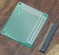 ラズパイでアナログ電圧を扱う (3) 使用するパーツ