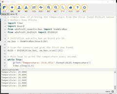 CircuitPython 10行プログラミング (7) 1-Wire