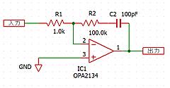 OPアンプの怪 その4 Cがあると何が変わるか(3)