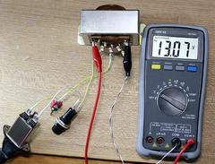 Raspberry Piのアナログ電源をキットで作る (3) 動作確認