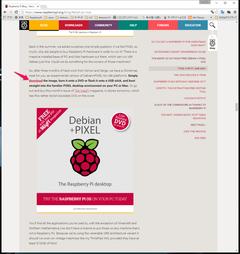 x86 Raspberry Pi Jessie にnode-REDをインストール (1)