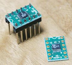 5ドル!ラズパイ・ゼロ(Raspberry pi Zero)でIoT (36) A-Dコンバータの利用11 I2C LTC2461