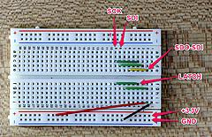 Raspberry Piで7セグメントLEDを簡単に点灯させよう (3) 配線量を少なくできるシフトレジスタを使った点灯方法 その2